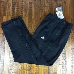 Adidas Tricot Snap Pants Running Breakaway Black